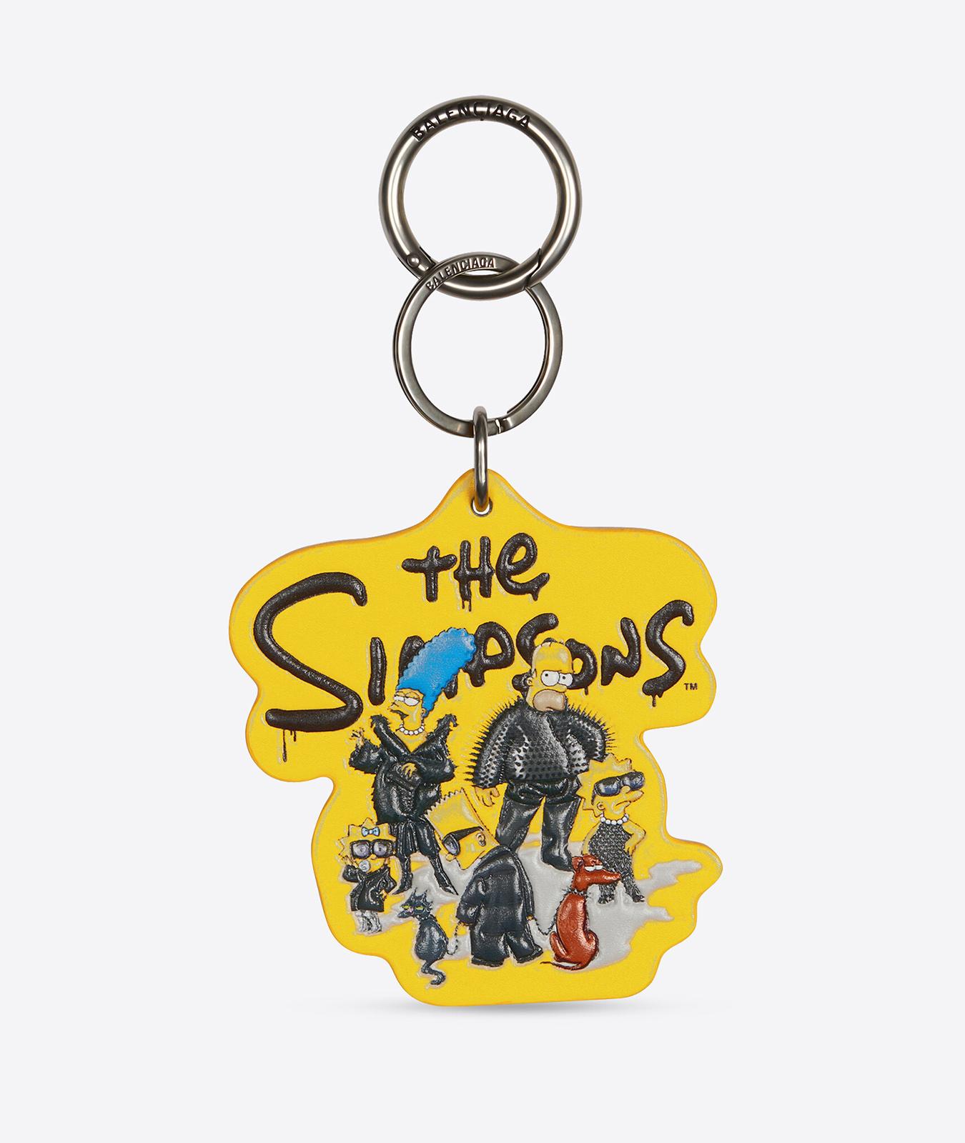 Llavero de Balenciaga x Los Simpson