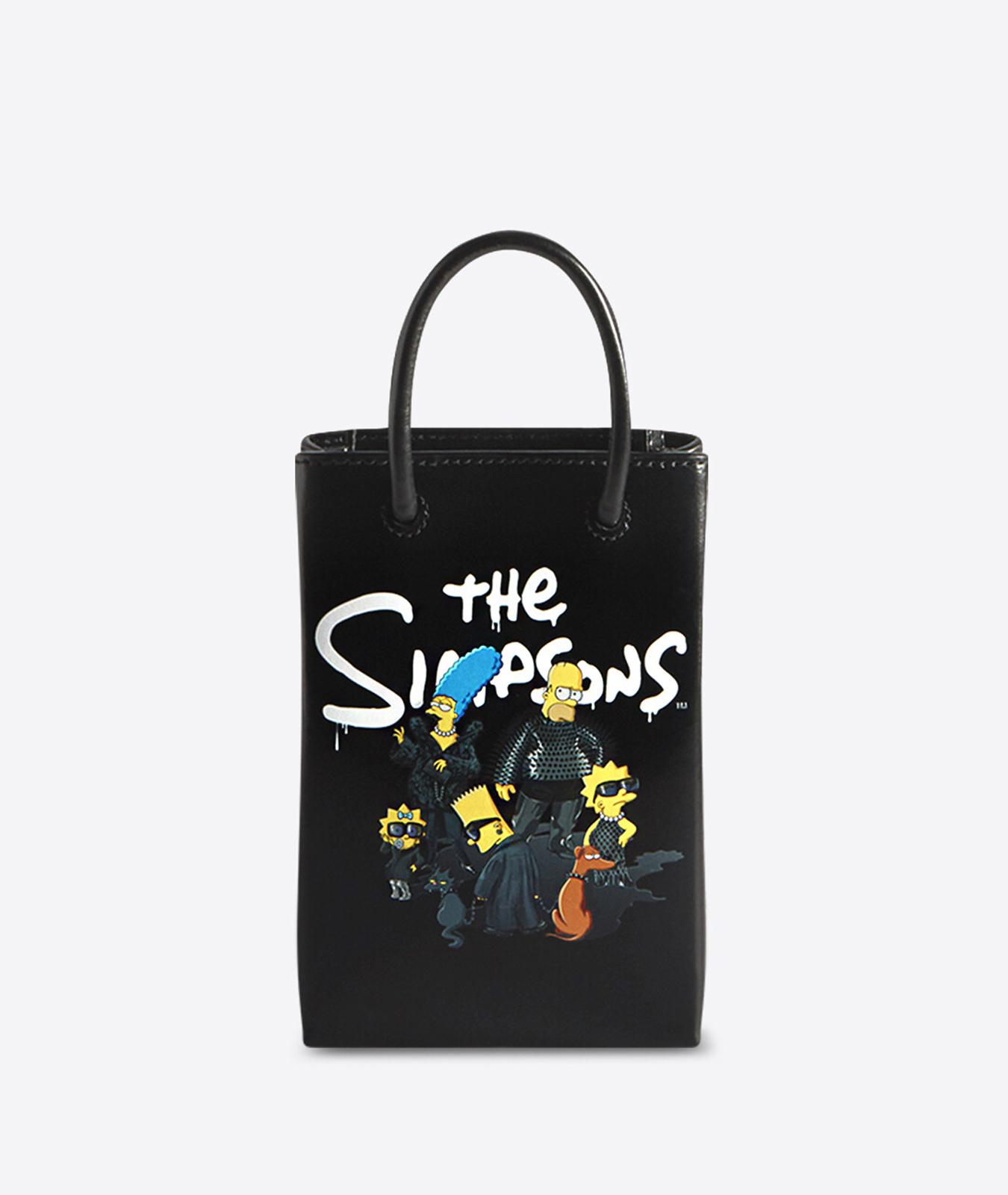 Bolso mini de Balenciaga x Los Simpson