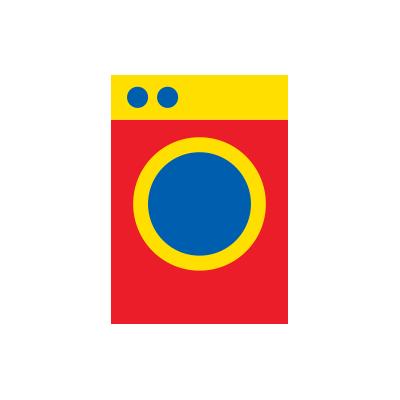 """Mon lave-linge affiche """"CLB"""""""