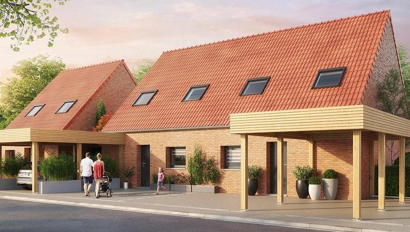 Ramery Immobilier - Démarrage des travaux au Hameau du Cazeaux !