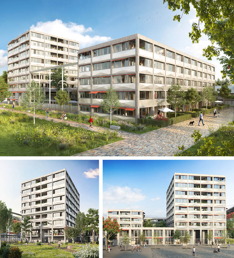 Programme immobilier Appartements Commerces Neufs Lille Fives Cail