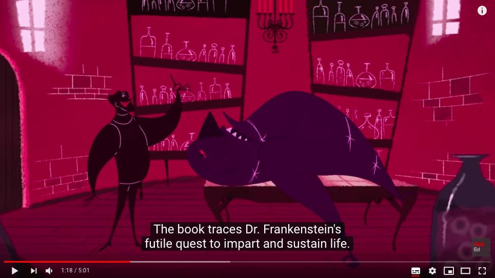 Frankenstein TED-ed